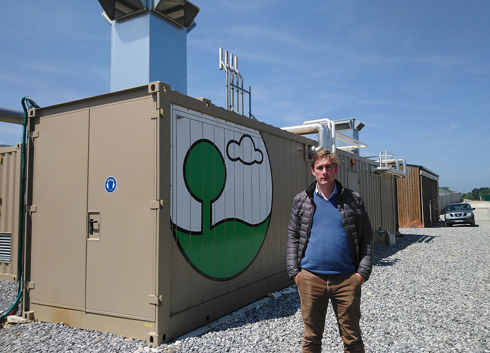 Valois Energie: Notre première installation française de production de biométhane