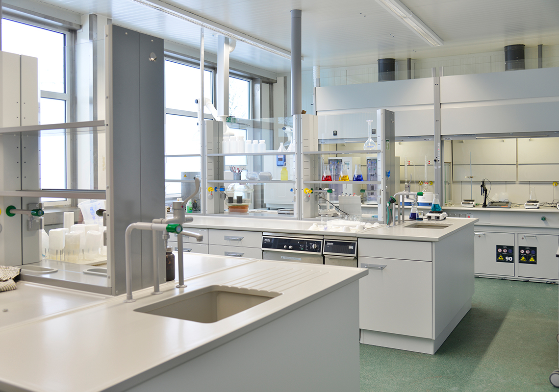 The EnviTec laboratory in Lohne / Germany