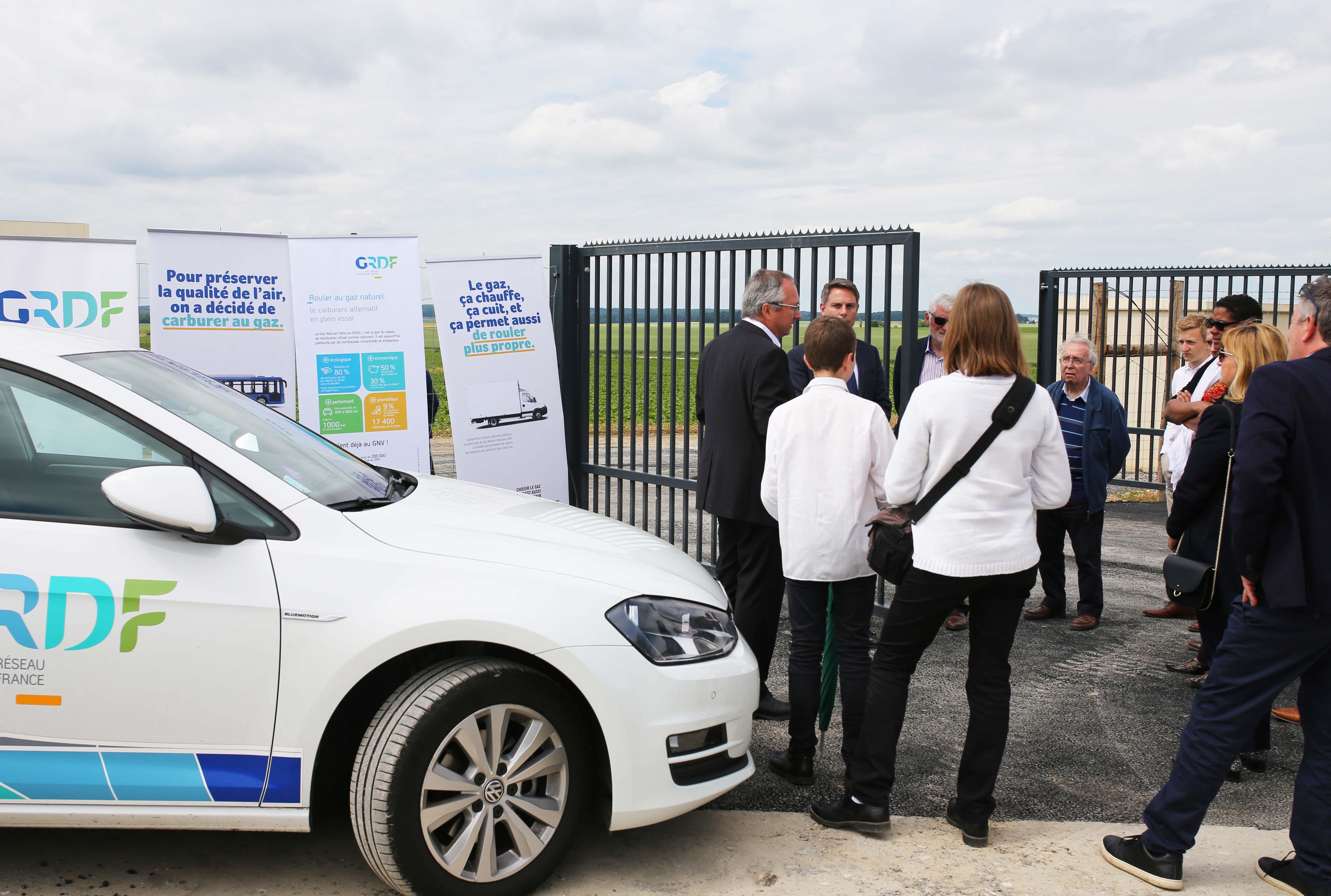 Le biométhane est utilisé comme carburant neutre en CO2 dans les véhicules au GNC disponibles dans le commerce.